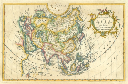 Map Of Asia In French.Wattis Fine Art Gallery Maps Asia An Accurate Map Of Asia